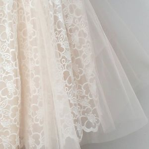 Space46 Boutique Lace Tulle Skirt